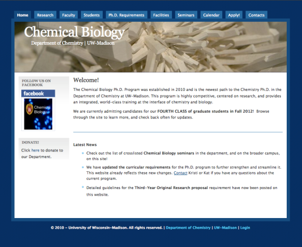 Site: Chemical Biology
