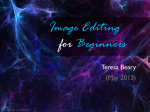 Image Editing for Beginners